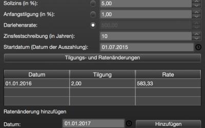 BaufiFX 1.5 – neue Features